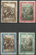 Vatican - 1963 Freedom From Hunger Set Of 4 Used  SG 400-3  Sc 356-9 - Oblitérés