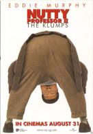 "15J : Movie Film Poster Postcard ""Nutty Professor II"" No2 - Afiches En Tarjetas"