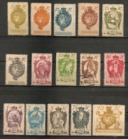 Timbres - Liechtenstein - 1920 - Série De 15 Timbres -