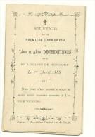 Hannut Merdorp Leon Et Alice  De Chentinnes 1888 - Hannuit