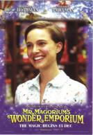 "15J :  Movie Film Poster Postcard ""Mr.Magorium´s Wonder Emporium"" Dustin Hoffman No2 - Afiches En Tarjetas"