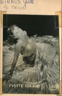 Yvette Giraud Née Yvette Houron, Artiste, Chanteuse. - Famous People