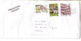 GOOD FRANCE Postal Cover To ESTONIA 2014 - Good Stamped: Architecture - Frankrijk