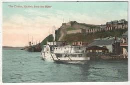 The Citadel, Quebec, From The River - Québec - La Citadelle