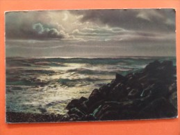 45436 POSTCARD:  WEATHER: Clouds And Rough Seas. - Postcards
