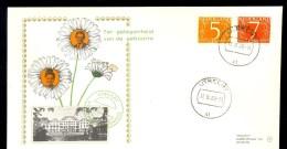 NETHERLANDS FDC 1968 * ROYAL BIRTH * MARGRIET PIETER VAN VOLLENHOVE - FDC