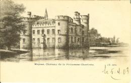 """CP De MEYSSE ( Meise ) """" Château De La Princesse Charlotte """" Cachet Relais De MEYSSE - Meise"""