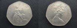 1979 - 50 PENCE GRANDE-BRETAGNE - ANGLETERRE - GREAT BRITAIN - ENGLAND - 1971-… : Monnaies Décimales