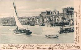 FOLKESTONE - Entrance To Harbour - Folkestone
