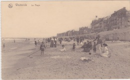Westende La Plage Strand Feldpost 1916 Kaiserliche Marine - Westende