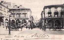 Cpa Italie  Catania  Piazza  Mazzini - Catania