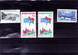 MADAGASCAR : : Y&T :* : 360 à 363 Légère Charnière - Madagascar (1960-...)