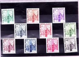 MADAGASCAR : TT Stèle De L'indépendance  : Y&T :* :41 à 50 Légère Charnière - Madagascar (1960-...)