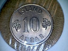 Island 10 Aurar 1963 - Iceland