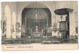 Watermael Watermaal Boitsfort Boisfort Bosvoorde église Saint Hubert Intérieur D V D 8568 Dero 1910 Cachet Verviers - Watermael-Boitsfort - Watermaal-Bosvoorde