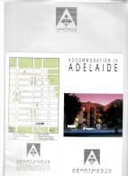 Australië Hotelreklame Briefpapier, Enveloppe En Documentatie - Etiketten Van Hotels