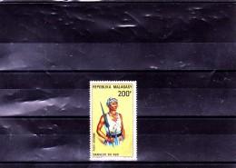 MADAGASCAR : Danseur Du Sud : Y&T: 103** PA - Madagascar (1960-...)