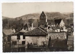 BEAULIEU-1954-Chapelle Des Pénitents Et Les Vieux Toits  Cpsm 15 X10 N°14  éd A.Village---carte Pas Courante - Autres Communes