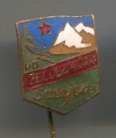 Alpinism, Mountaineering, Climbing - SARAJEVO, Bosnia & Herzegovina, Enamel, Vintage Pin, Badge - Alpinismus, Bergsteigen