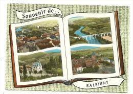 CP Souvenir Multivues De BALBIGNY - France