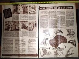 ANCIENNE PUBLICITE DOCUMENT ENQUETE SUR LA CITROEN 2CV 2 CV - Vecchi Documenti