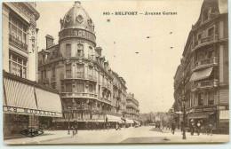 DEP 90 BELFORT AVENUE CARNOT - Belfort - Ville