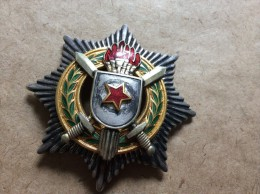 YUGOSLAVIA   Orden Za Vojne Zasluge Sa Srebrnim Mačevima (III. Red)            MEDAL  AWARD   1951 - Altri Paesi