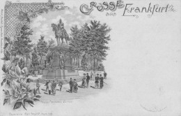 GERMANIA -  GRUSS Aus, FRANKFURT,  Viagg. 1896 - APR-12-26,27 - Non Classificati