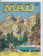 Mad Magazine Issue # 31 February 1957 25 Cts - Boeken, Tijdschriften, Stripverhalen