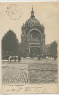 Paris Eglise Saint Antoine Tram A Cheval Gare De L' Est Trocadero Rue Traversiere Paris 12 - Kirchen