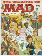 Mad Magazine Issue # 35 October 1957 25 Cts - Boeken, Tijdschriften, Stripverhalen