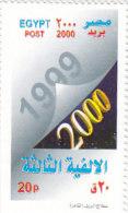 Stamps EGYPT 2000 SC-1734 MILLENNIUM .MNH */* - Unused Stamps