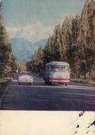 KAZAHSTAN - Almaty 1970 - Alma Ata - Doroga Na Medeo - Road To Medeo - Kazakhstan