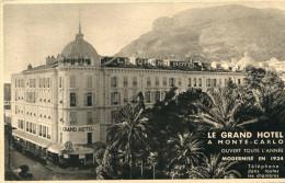 MONACO(LE GRAND HOTEL) - Alberghi