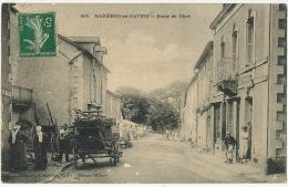 606 Mazieres En Gatine Route De Niort Edit Moreau Phototypie Berdou Ruffec Attelage Marchand De Vin - Mazieres En Gatine