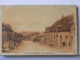 58 - CHATILLON EN BAZOIS - RUE DE BEAUREGARD - Chatillon En Bazois