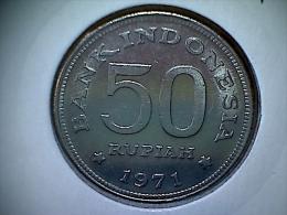 Indonesie 50 Rupiah 1971 - Indonésie