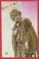 Melle - Bonjour De ...- Wenskaart  -1928 ( Verso Zien ) - Melle