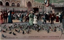 Monte Carlo  Pigeons Café De Paris - Monte-Carlo