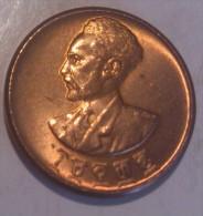 Ethiopia 1 Cent EE1936 AUNC - Etiopia
