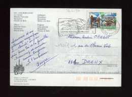 - FRANCE 1961... . AFFRANCHISSEMENT SIMPLE AVEC N°3048  Y&T SUR CP DE 1997 . - Marcophilie (Lettres)