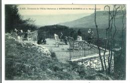 MONNETIER MORNEX - Terrasse De L'Hôtel Bellevue Et Le Mont Gosse - France