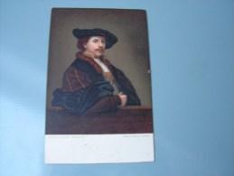 == Rembrand , Karte GB Verlag Misch Und  Co. 1062 - Peintures & Tableaux