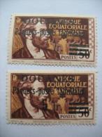 DOUANES  PAQUETS POSTE FAMILIAUX 1 TIMBRE SANS VALEUR IMPRIMEE - A.E.F. (1936-1958)