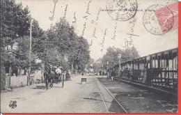 --   14 -- RIVA BELLA   -- LA GARE -- BELLE CARTE ANIMEE -- 1908 - Riva Bella