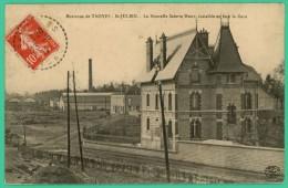 Saint Julien Les Villas  - Aube - Scierie Huot Face à La Gare  - Animée - Troyes