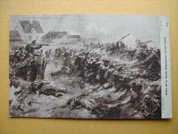 L´Echec De La Garde Prussienne Devant Ypres. - Guerra 1914-18