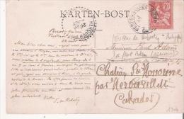 EUGENE DE ROBERTY (1843 1915) PHILOSOPHE REPRESENTANT DU POSITIVISME SOCIOLOGUE ECONOMISTE RUSSE CARTE AVEC AUTOGRAPHE - Autographs