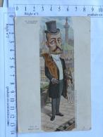 CPA pr�curseur - Illustreur MOLOCH - Caricature politique - M. WALDECK-ROUSSEAU