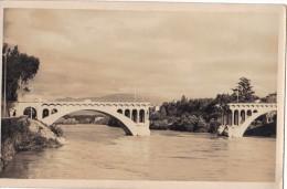 Romans Pont Neuf Coupé Sur Isère Photocarte - Romans Sur Isere